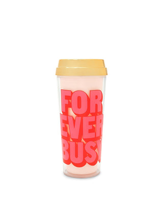 Deluxe Hot Stuff Thermal Mug - Forever Busy