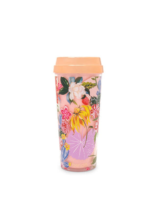 deluxe hot stuff thermal mug - garden party