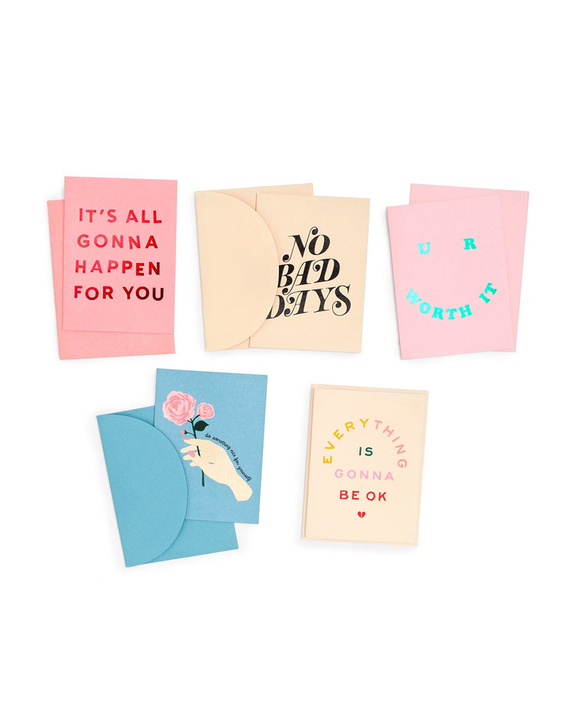 i got your back greeting card set - assorted