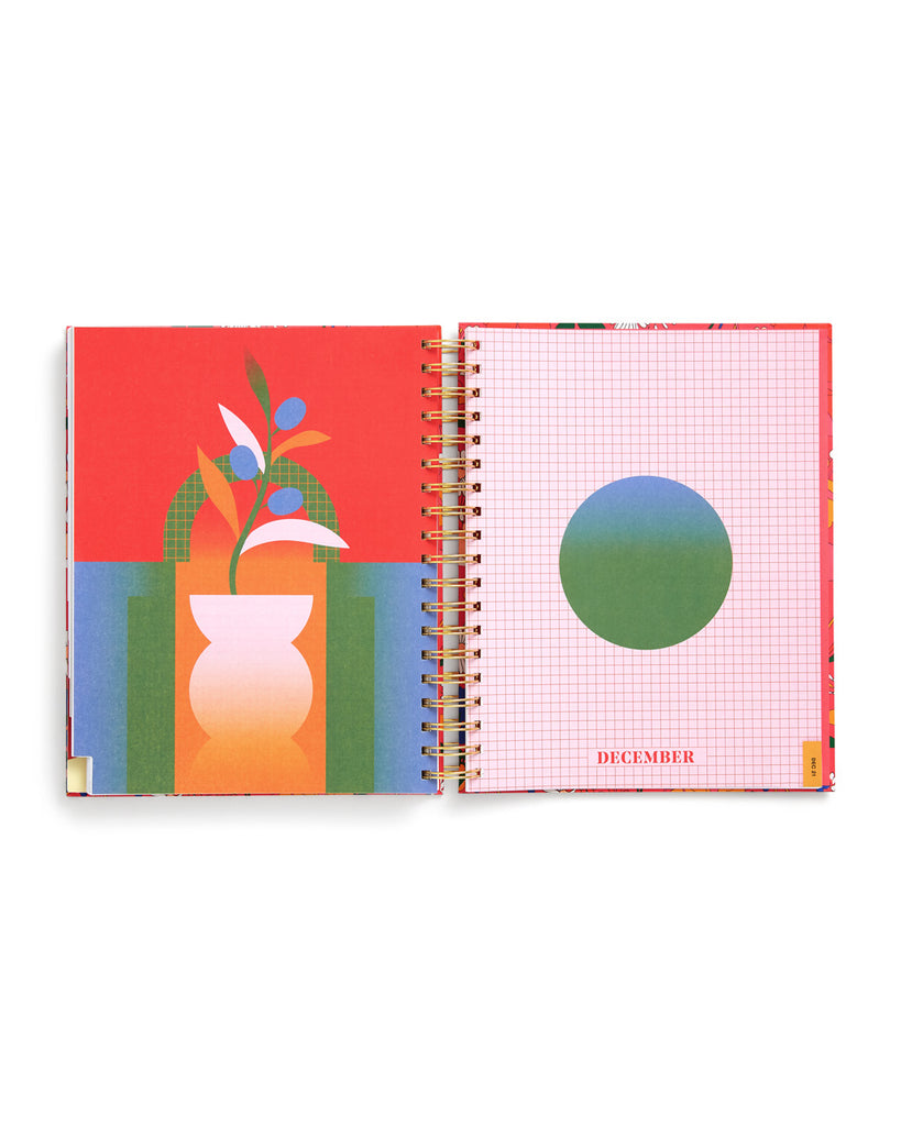 Large 17-Month Planner - Better Me