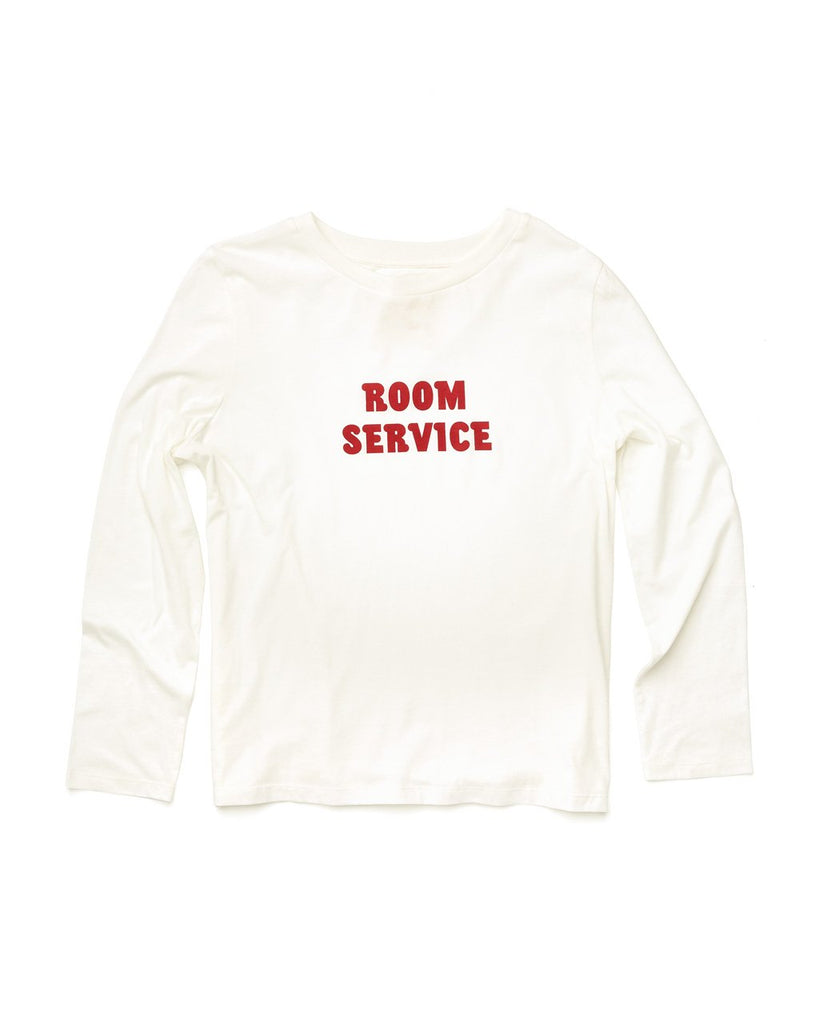 Room Service Long Sleeve Boxy Tee