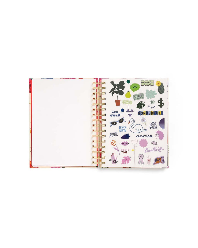Medium 17-Month Academic Planner - Lilac Glitter