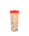 deluxe hot stuff thermal mug - confetti