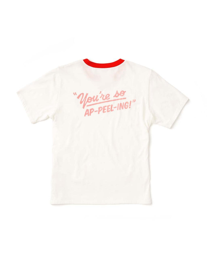 So Appeeling Ringer Tee