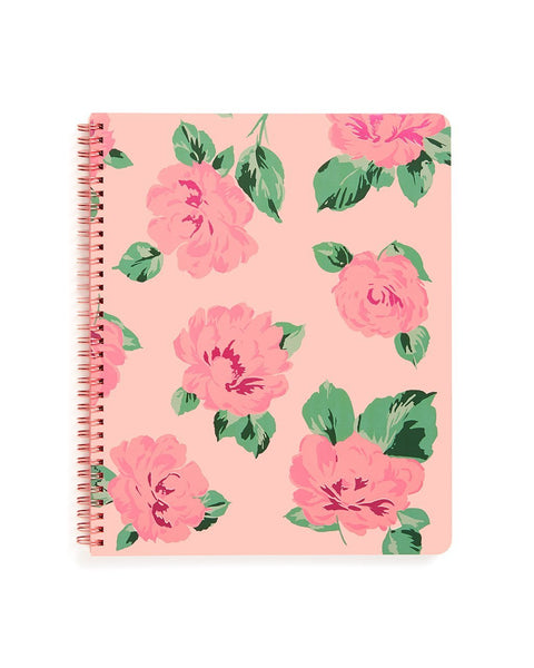style: rough draft large notebook