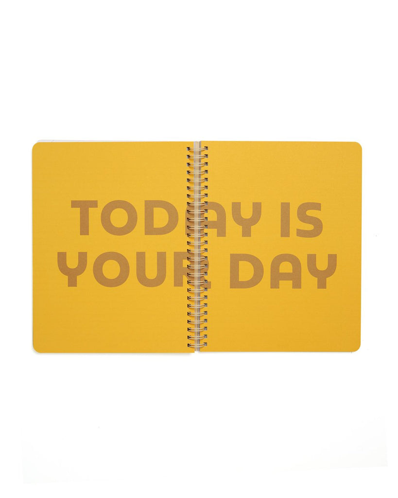 Features a special centerfold page with 'Today Is Your Day' printed on it.