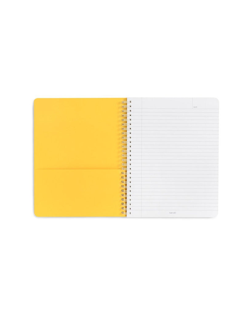 Rough Draft Mini Notebook - Daisies