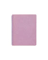 This Rough Draft Notebook comes in a glittered lilac design.