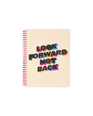 Rough Draft Mini Notebook - Look Forward Not Back