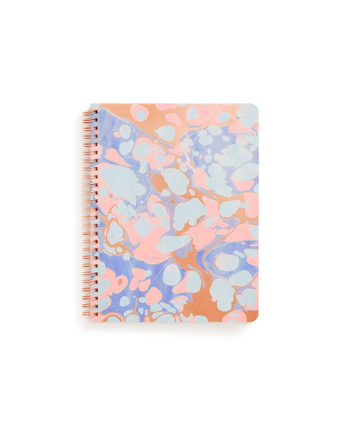 style: rough draft mini notebook
