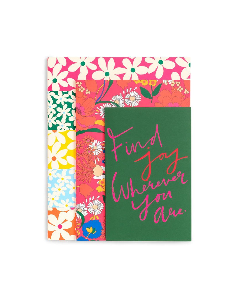 Rough Draft Notebook Set - Find Joy