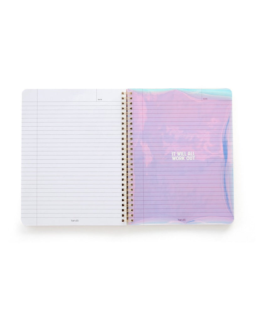 Rough Draft Mini Notebook - Pearlescent