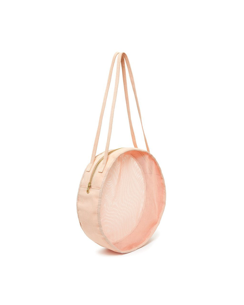 Seeing Things Circle Bag - Apricot Mesh