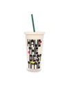 Sip Sip Tumbler With Straw - Best Time