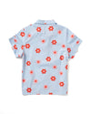Retro Daisy Short Sleeve Sleep Top