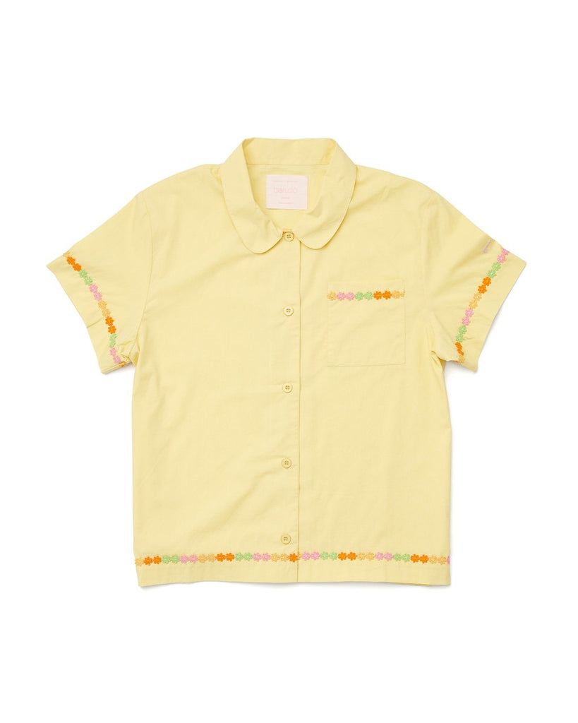 Short Sleeve Leisure Shirt - Daisy Chain