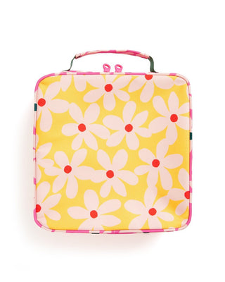 What's For Lunch? Square Lunchbag - Daisies