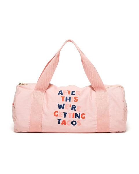 style: work it out gym bags