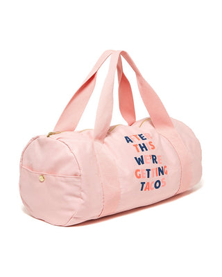 Work It Out Gym Bag - After This We're Getting Tacos