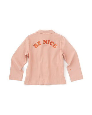 Be Nice Work Jacket - Pink