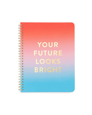 Rough Draft Mini Notebook - Your Future Looks Bright
