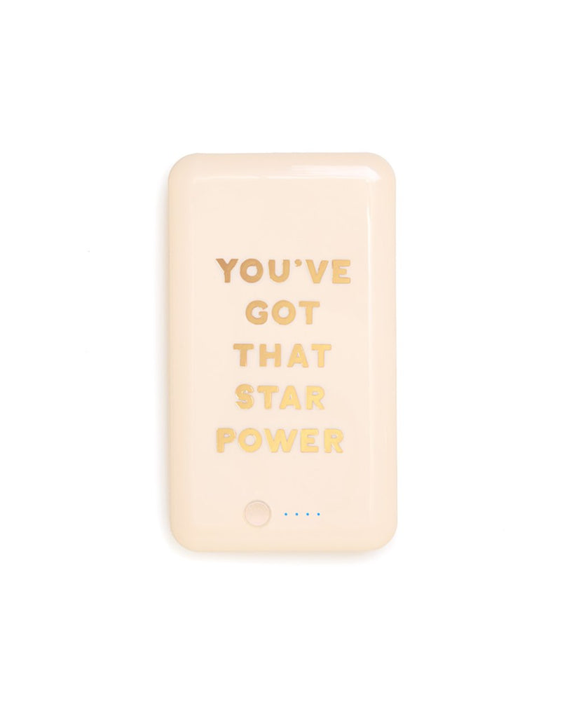 the ban.do power bank - star power
