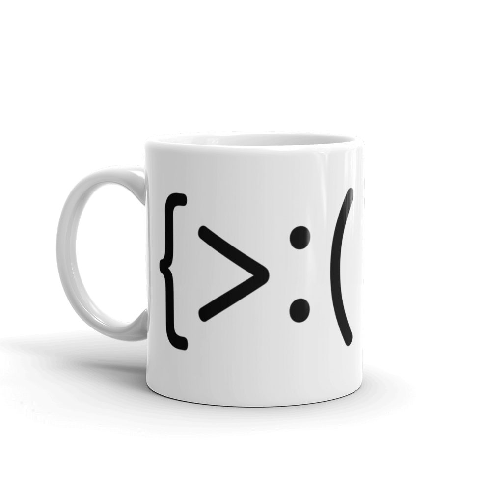 Grumpmoticon Mug