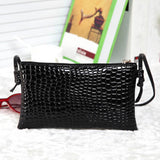 Alligator PU Leather Summer Clutch - 3 Styles