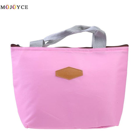 New Fashion Portable Canvas Thermal Bag - 5 Styles