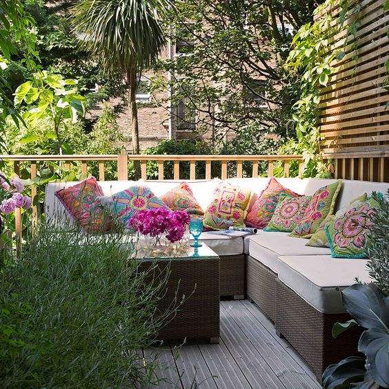 outdoor colourful idealhome