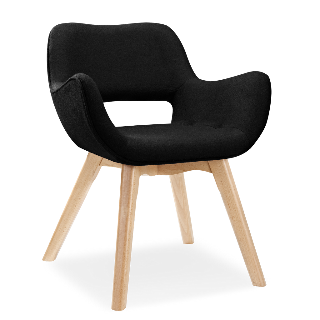 Fabric dining chair grant featherston designer replica for Voga furniture
