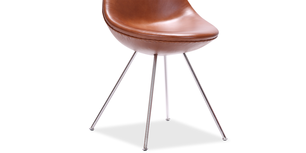 Arne jacobsen drop chair arne jacobsen designer replica for Arne jacobsen stehlampe replica