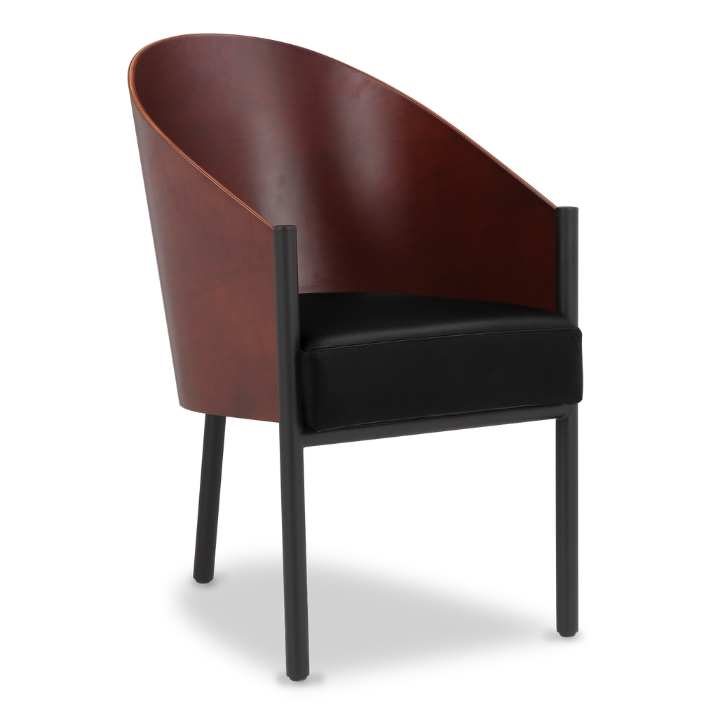 Costes chair with high back philippe starck designer for Voga furniture