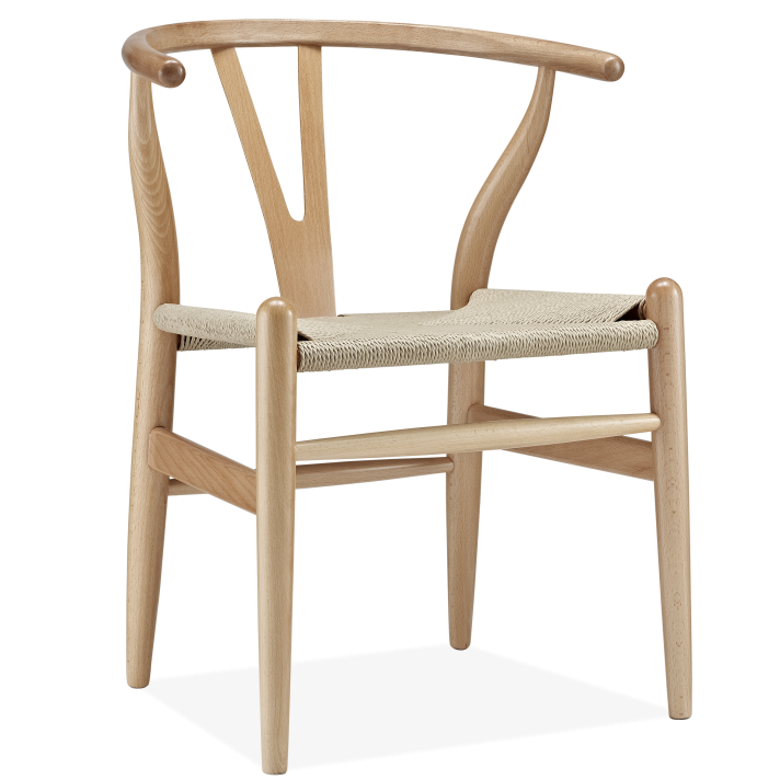 Hans wegner y chair hans j wegner designer replica voga for Design furniture replica ireland