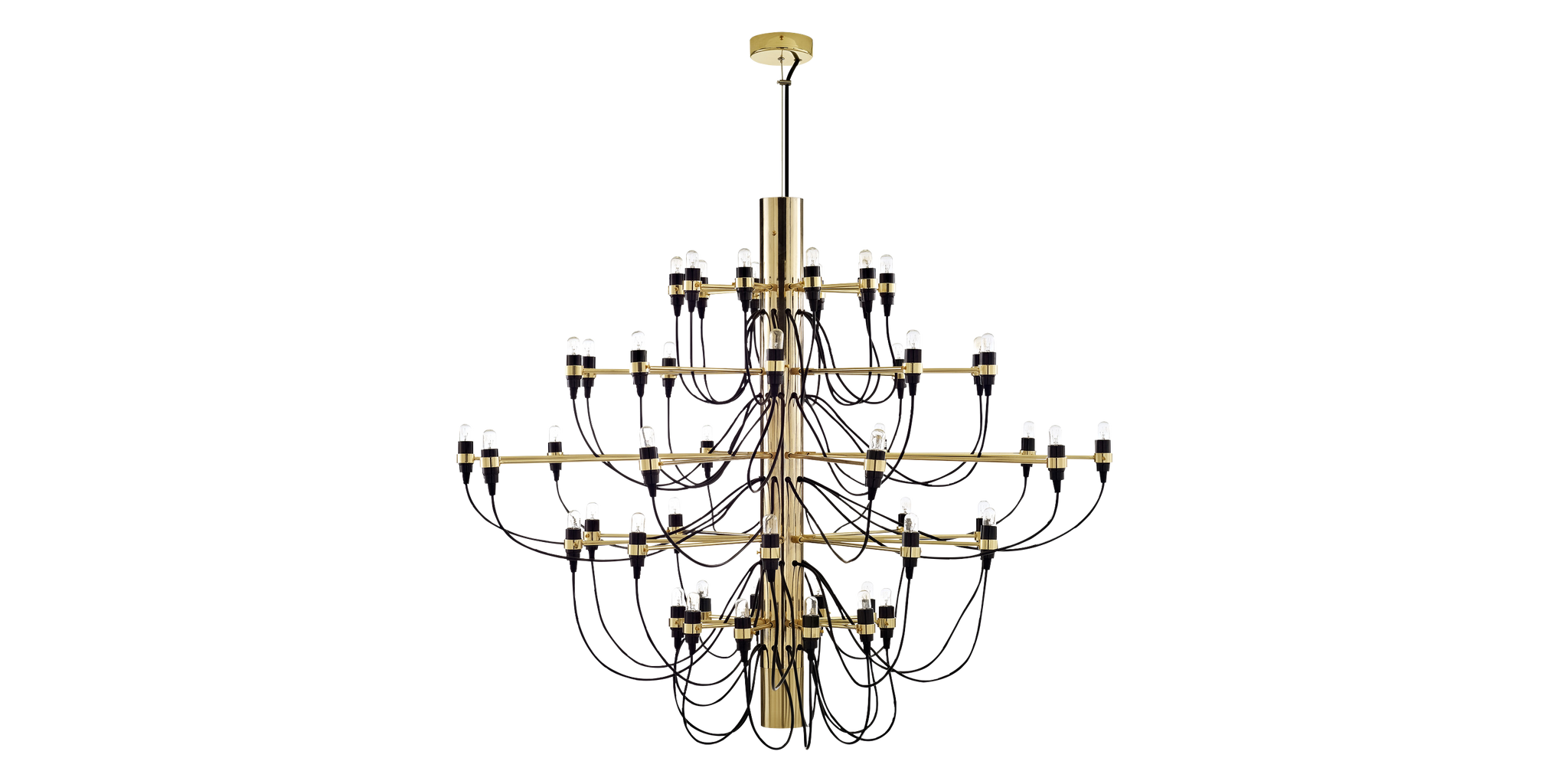 Gino sarfatti chandelier metal chrome 50 lightbulbs gino gino sarfatti chandelier metal chrome 50 lightbulbs gino sarfatti designer replica voga arubaitofo Images