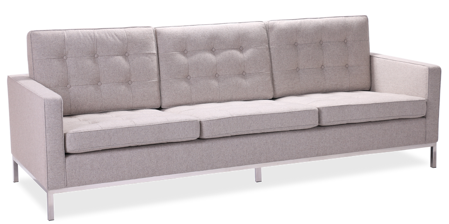 Florence Knoll Style 3 Seater Sofa Florence Knoll Designer Replica