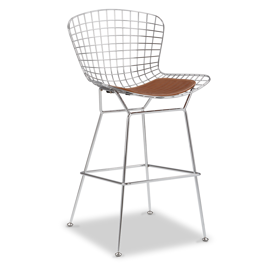 Sgabello Da Bar Wire Harry Bertoia Designer Replica Voga