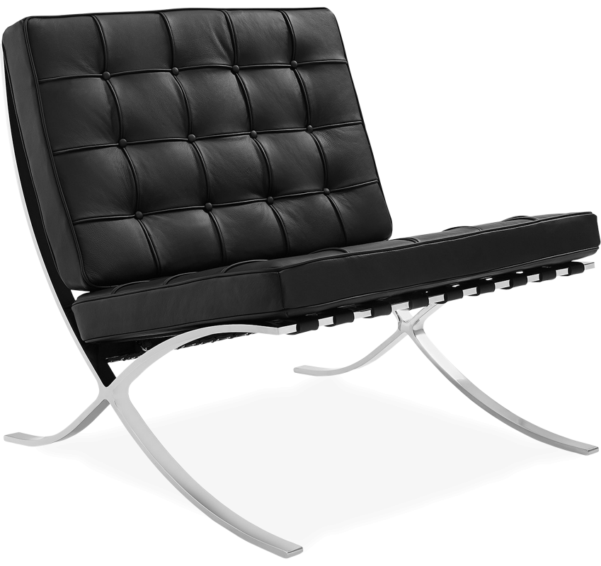 barcelona chair replica mies van der rohe designer replica voga. Black Bedroom Furniture Sets. Home Design Ideas