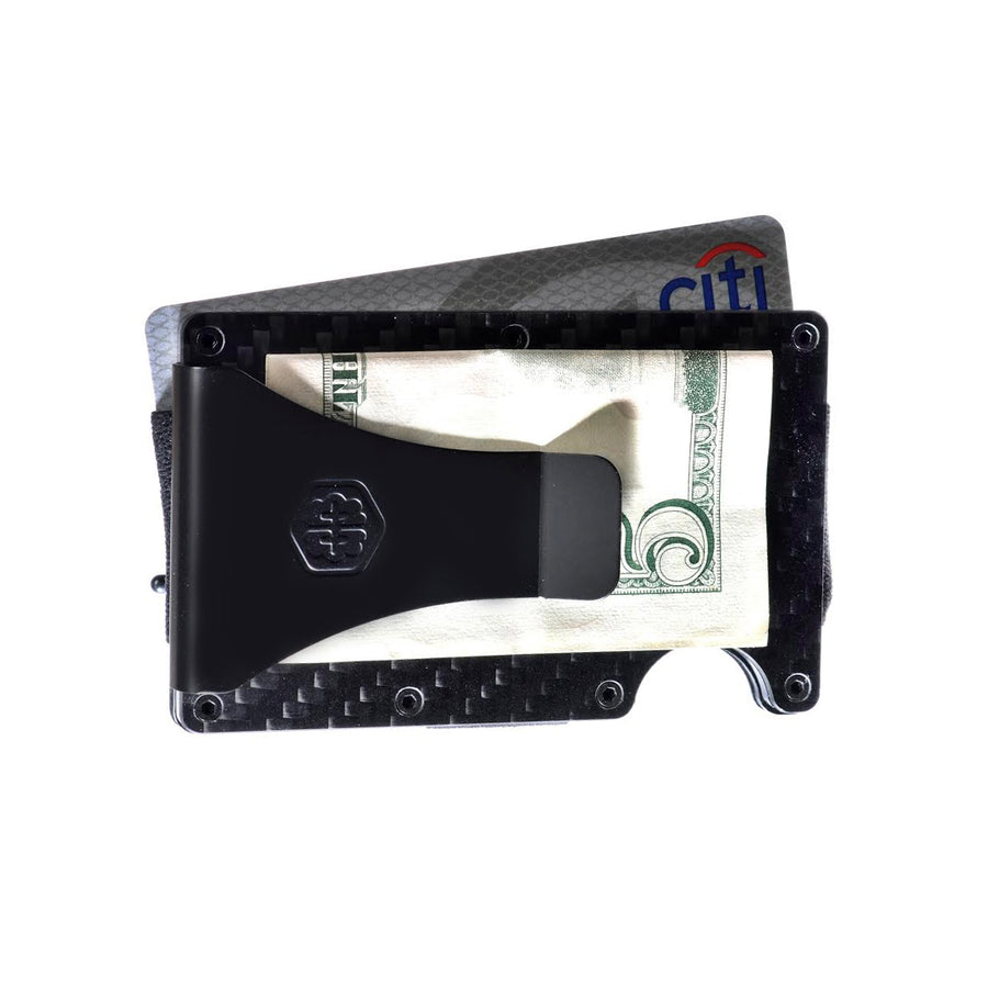 BrainWallet® - The Best RFID Blocking Carbon Fiber Wallet Money Clip