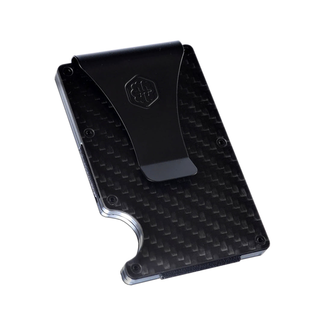 BrainWallet - The Best RFID Blocking Carbon Fiber Wallet Money Clip