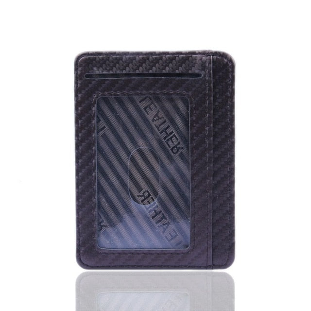 Ultra Thin Leather Card Case