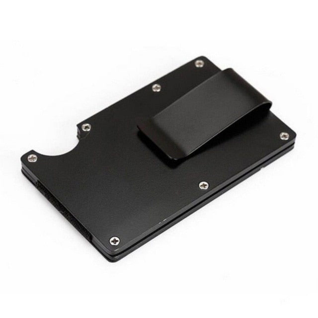 Slim Stainless Steel Unisex Card Holder