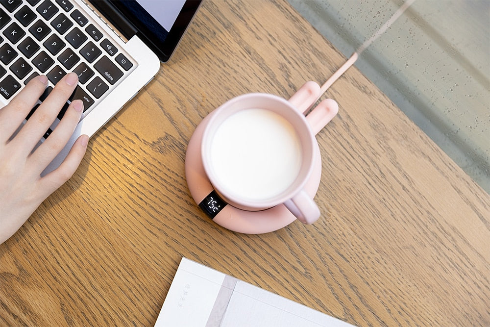 Smart Touch Heating Coasters