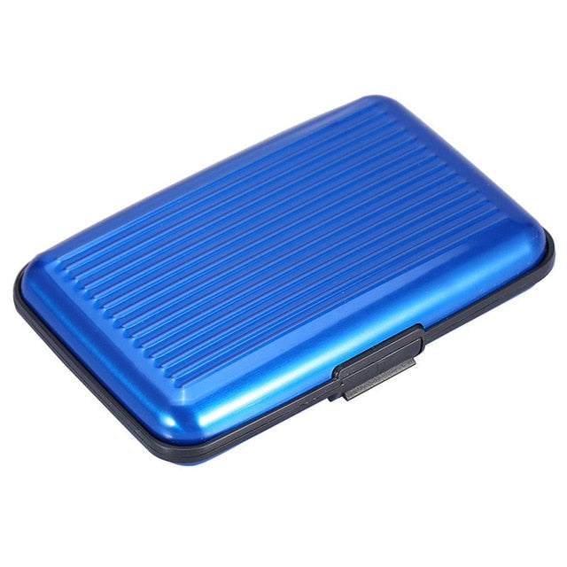 Aluminum Metal Wallet Anti RFID 7 Colors