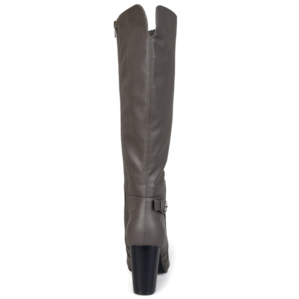 Carver Wide Calf Boots   Mid-Rise Boots