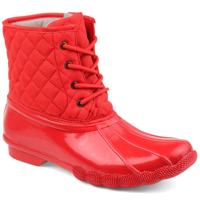CHILL Shoes Journee Collection Red 5.5