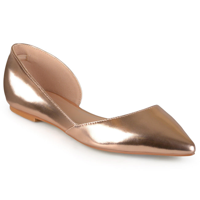 CORTNI Shoes Journee Collection Rose Gold 6