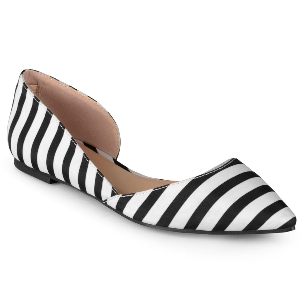CORTNI WIDE WIDTH Shoes Journee Collection Stripe 6