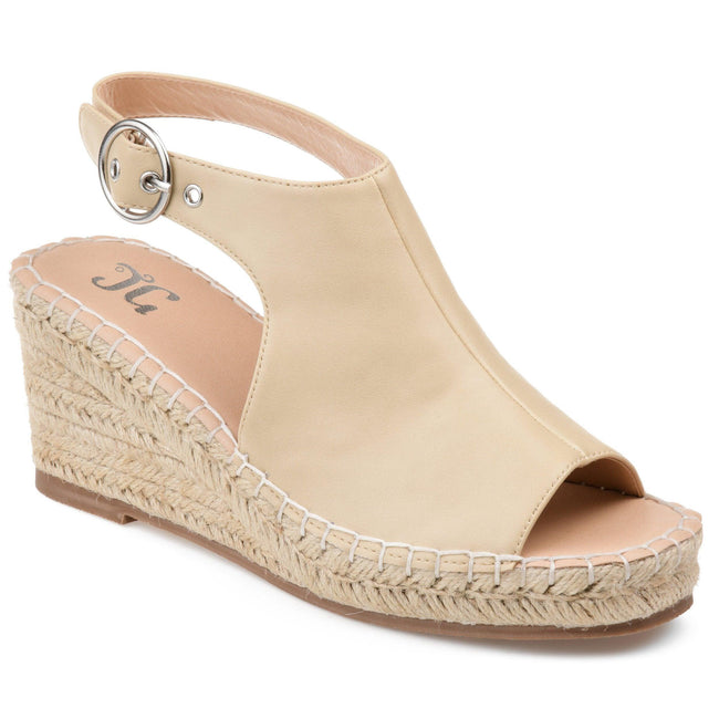 CREW Shoes Journee Collection Nude 5.5