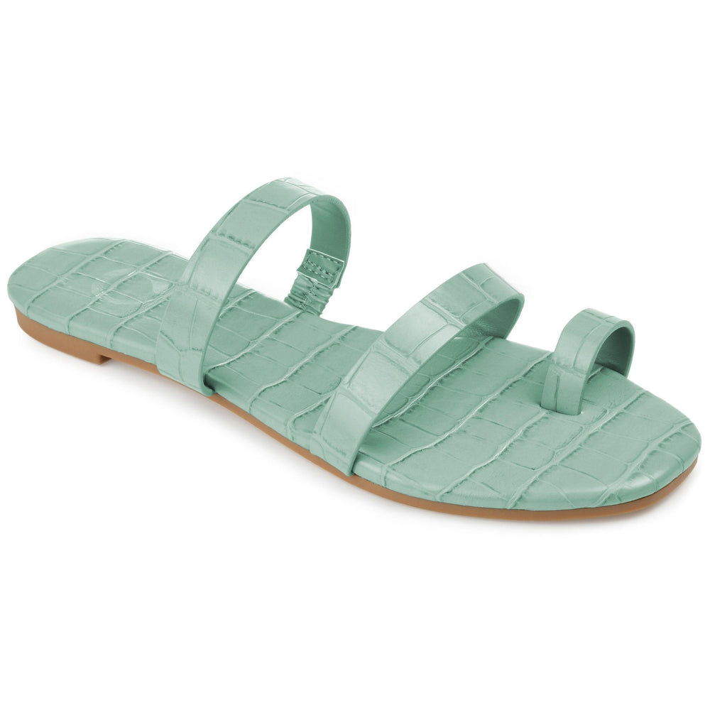 DAIYA SHOES Journee Collection Green 10